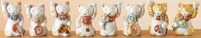 手作り招き猫(小)多田窯